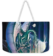 Dragon Lair With Stairs Weekender Tote Bag