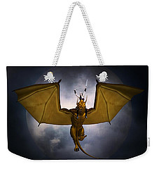 Dragon Rider Weekender Tote Bag