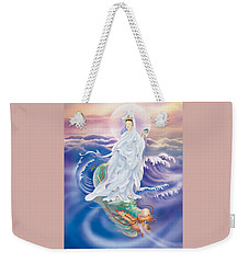 Dragon-riding Avalokitesvara  Weekender Tote Bag