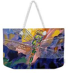 Dragon Summer Weekender Tote Bag