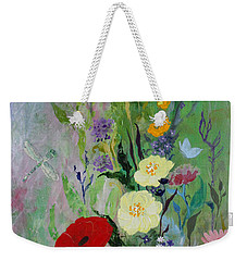 Dragonflies Dancing Weekender Tote Bag