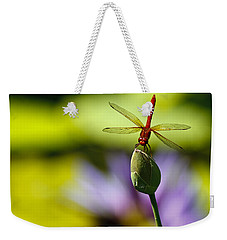Dragonfly Display Weekender Tote Bag