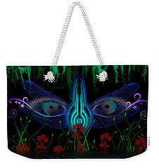 Dragonfly Eyes Series 6 Final Weekender Tote Bag