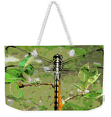 Dragonfly Pastel Weekender Tote Bag