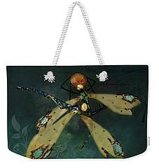 Dragonfly Romance Weekender Tote Bag