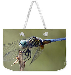 Dragonfly Smile Weekender Tote Bag