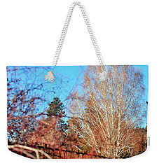 Drake Park Bridge 21655 Weekender Tote Bag