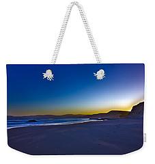 Drake's Beach Hdr Weekender Tote Bag