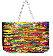 Weekender Tote Bag featuring the painting Drama by Jacqueline Athmann
