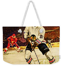 Drama On Ice Weekender Tote Bag