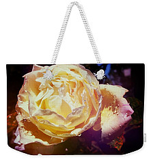 Dramatic Rose Weekender Tote Bag