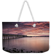Drawbridge At Dusk Weekender Tote Bag