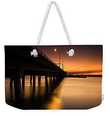 Drawbridge At Sunset Weekender Tote Bag