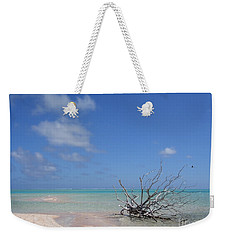 Dream Atoll  Weekender Tote Bag by Jola Martysz