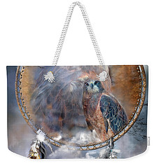 Dream Catcher - Hawk Spirit Weekender Tote Bag