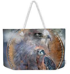 Dream Catcher - Hawk Spirit Weekender Tote Bag