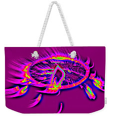 Dream Catcher With Light Weekender Tote Bag