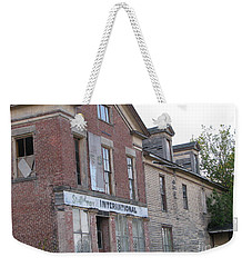 Weekender Tote Bag featuring the photograph Dream House by Michael Krek