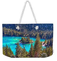 Dream Lake Weekender Tote Bag by Hanny Heim