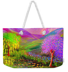 Dream Lake Weekender Tote Bag by Jane Small