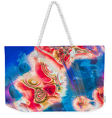 Weekender Tote Bag featuring the photograph Dream Nebulae by Kellice Swaggerty