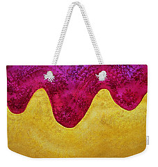 Dream Of Dunes Original Painting Weekender Tote Bag