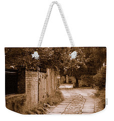 Weekender Tote Bag featuring the photograph Dream Road by Rodney Lee Williams