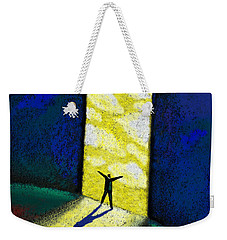 Discovery Weekender Tote Bag by Leon Zernitsky