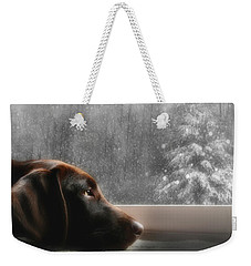 Dreamin' Of A White Christmas Weekender Tote Bag by Lori Deiter