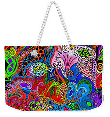 Dreaming In Color Weekender Tote Bag by M West