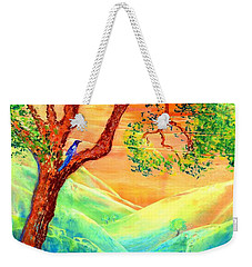 Dreaming Of Bluebells Weekender Tote Bag