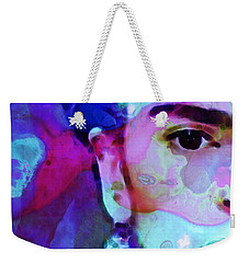 Weekender Tote Bag featuring the painting Dreaming Of Frida - Art By Sharon Cummings by Sharon Cummings