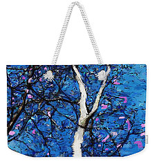 Weekender Tote Bag featuring the digital art Dreaming Of Spring by David Lane