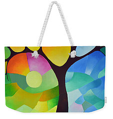 Dreaming Tree Weekender Tote Bag by Sally Trace