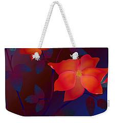 Dreaming Wild Roses Weekender Tote Bag by Latha Gokuldas Panicker