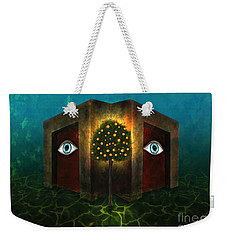 Dreams Do Not Sleep Weekender Tote Bag by Rosa Cobos
