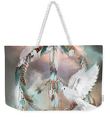 Dreams Of Peace Weekender Tote Bag