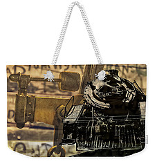 Dreams Of Trains Past Weekender Tote Bag