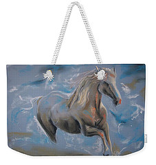 Weekender Tote Bag featuring the pastel Dreamworks by Peter Suhocke