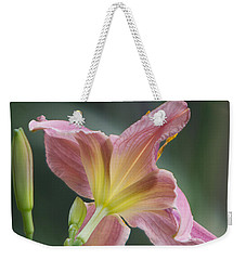 Dreamy Daylily Weekender Tote Bag by Patti Deters