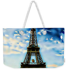 Dreamy Eiffel Tower Weekender Tote Bag