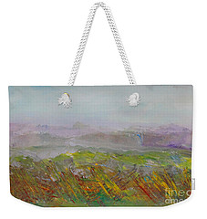 Dreamy Landscape Abstract Weekender Tote Bag