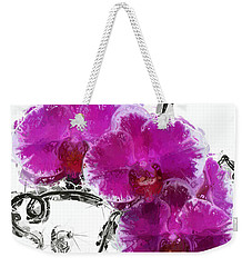Dreamy Orchids Weekender Tote Bag by Anthony Fishburne