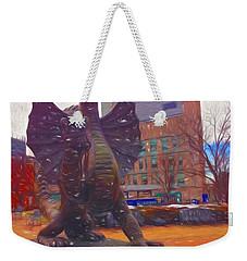 Drexel Dragon Colored Weekender Tote Bag