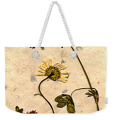 Dried Flowerrs 1 Weekender Tote Bag