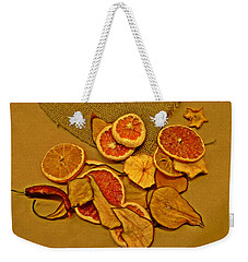 Dried Fruit Weekender Tote Bag