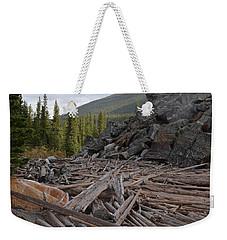 Driftwood And Rock Weekender Tote Bag