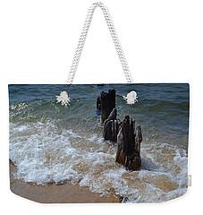 Driftwood And Sea Foam Beach Weekender Tote Bag