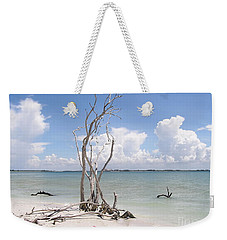 Weekender Tote Bag featuring the photograph Driftwood by Carol  Bradley