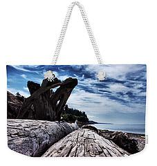Driftwood In Teddy Bear Cover Weekender Tote Bag